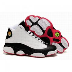 Wholesale Air Jordan 13 XIII Retro Men Shoes Beige/Black/Red 1064 For $62.50 Go To: http://www.airmaxshoxvip.com