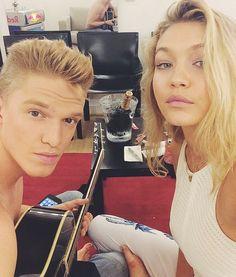 Cody simpson and gigi Hadid <3