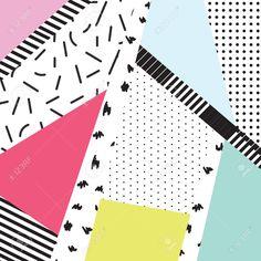 57449985-Memphis-color-blocks-and-dash-elements-backdrop-design-Black-and-white-80s-90s-retro-style--Stock-Vector.jpg (1300×1300)
