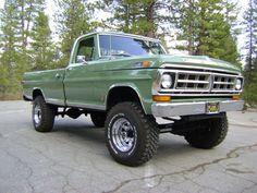 1971 ford trucks | 1971 FORD F-250 4X4 PICKUP