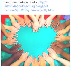 Teacher friends: What a great picture for the first day of school. Could put your class name in the middle of the heart and use to decorate your door.Fun idea for a teacher gift, frame picture to give at end of year. End Of School Year, End Of Year, Beginning Of School, First Day Of School, Art School, Back To School, Sunday School, School Ideas, Future School