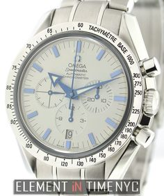 #Omega #Speedmaster Broad Arrow Chronograph 42mm iN Stainless Steel With A White Dial (3551.20.00)
