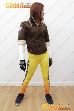 OVERWATCH Tracer Fanart Cosplay Costume - CSddlink cosplay