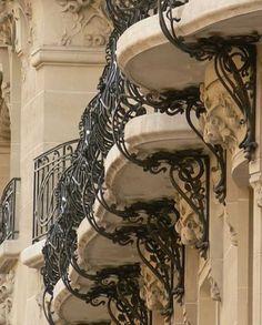 French balkony