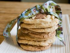 Toblerone and almond cookies // Lay the table (non-shortbread version...has eggs)