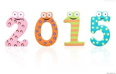 Happy new year 2015 frog image funny picture