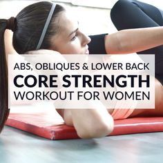 Challenge your abs, obliques and lower back with these core strengthening exercises. A thorough core workout routine designed to transform your midsection. http://www.spotebi.com/workout-routines/core-strengthening-exercises-abs-obliques-lower-back/