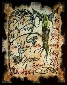 Hp Lovecraft, Lovecraft Cthulhu, Necromancer Book, Ghostbusters, Dark Books, Lovecraftian Horror, Satanic Art, Dark Artwork, Demon Art