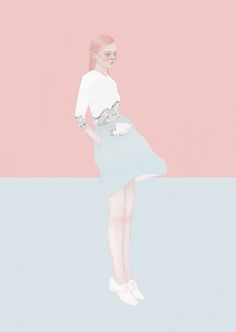 Fashion Illustration by Taiwanese artist Hsiao-Ron Cheng.