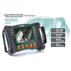Extech HDV600 High Definition VideoScope Borescope Inspection Monitor is an excellent inspection camera for Home Inspection, Industrial Manufacturing, Automotive, Aerospace, HVAC, Environmental, Safety and Security applications. Get More Details and SHOP: http://www.valuetesters.com/extech-hdv600-high-definition-videoscope-borescope-inspection-monitor.html