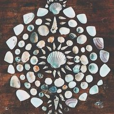 One pice will make the whole picture in the end. ||via @Rubyashcreations #hippiespirits #seashell #energy #sacred ||