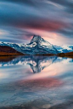 Matterhorn Flowing by Alessio Andreani #Photography #Matterhorn