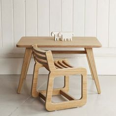 Unto This The Last - Angle Kid's Table & Chair