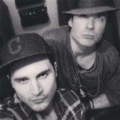 Michael Malarkey & Ian Somerhalder