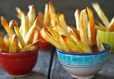 How to Make Perfect Crispy Oven Baked French Fries | COOKINGONTHEWEEKENDS.COM