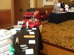 We have booths at Conferences