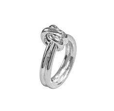 Coleção Knot - Anel em prata PVP 42,00 Euros Pvp, Knots, Engagement Rings, Collection, Jewelry, Jewelry Sets, Silver, Jewels, Rings For Engagement