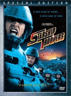 Starship Troopers [Blu-ray]: Casper Van Dien, Dina Meyer, Ed Neumeier: Movies & TV Movies And Series, Hd Movies, Movies To Watch, Movies Online, Movie Tv, Movies Free, Horror Movies, Movie Club, Cult Movies
