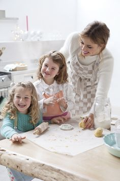 This is the most fun, I love making cookies. When can we try them?....