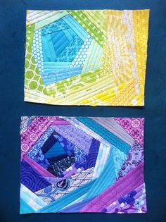 More examples of Bloomin' Quilt-As-You-Go ~ Tutorial is pinned on this board ~