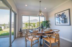 Bellriver Homes Oakdale - Dining table, chairs, breakfast room