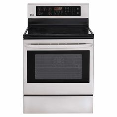 Shop LG Appliances  LRE6383ST 30-in Smooth Surface Freestanding 5-Element 6.3-cubic ft Convection Electric Range (Stainless Steel) at Lowe's Canada. Find our selection of ranges at the lowest price guaranteed with price match + 10% off.