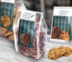 """56 """"Μου αρέσει!"""", 7 σχόλια - ANC (@art_needs_creativity) στο Instagram: """"Branding-Corporate Identity Design and packaging for bakery """"Story of Dough"""".The holistic design…"""" Corporate Identity, Identity Design, No Bake Cookies, Freshly Baked, Bakery, Creativity, Packaging, Branding, Chocolate"""