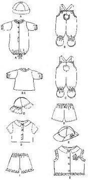 Image result for Free Printable Doll Clothes Patterns Cabbage