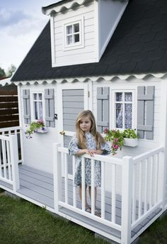 Wooden houses for children – beautiful! Wooden houses for children – beautiful… - Kids playhouse
