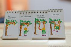 Ordena la historia y luego cuéntala. Montessori, Bullet Journal, Ideas, Dyslexia, Learning Spanish, Speech Language Therapy, Short Stories, Reading, Colombia