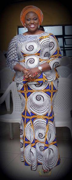 African Outfits, African Fashion, Fashion Women, Plus Size Fashion, Blouses, My Style, Women's Work Fashion, Moda Femenina, Blouse