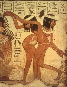 Have removed Ancient egyptian dancers opinion you