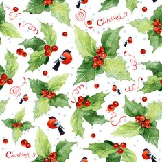 Christmas seamless pattern on Behance