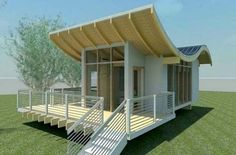 Charming House Design Scheme Heavenly Modern House Interior Splendid Appliance Proposition: House Design With Solar Roof With Very Small Design And Made From Bamboo Cool House Plans Prepossessing House Remodeling Plans Futuristic Style Best House Plans, Small House Plans, Small House Design, Modern House Design, Bamboo Roof, Bamboo House, Bamboo Grass, Bamboo Ceiling, Solar House