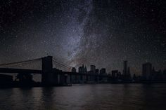 This is what New York would look like at night if there was no air pollution
