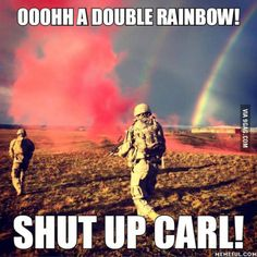 Carl is not a good soldier