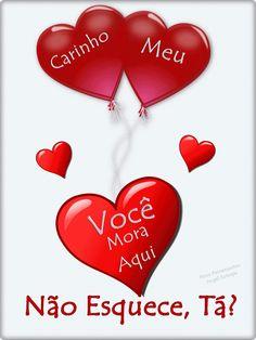 E o coração I Love You, Love Quotes, Romance, Hearts, 3 Friends, Jesus Cristo, Health Remedies, Bath Bombs, Coconut Oil