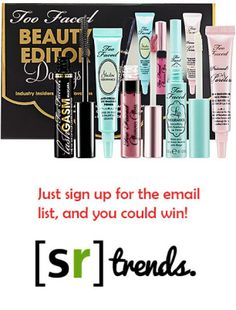 Studentrate and Sephora Giveaway - StudentRate[trends]
