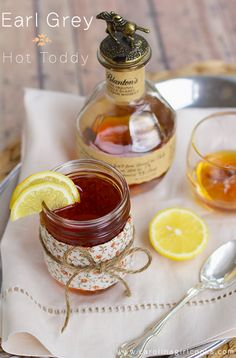 Earl Grey Hot Toddy | 21 Winter Cocktails To Get You Through The Cold
