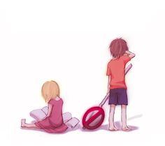 Vorona and Shizuo