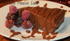 Allergy Friendly cooking at its best! Heavenly chocolate mousse on a delicious coconut rough base topped with a chocolate fudgey sauce. Yum!! Free from Nuts, Dairy, Eggs, Soy, Gluten and refined sugar! From Easy Allergy Free Christmas eBook
