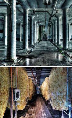 Falstaff Brewery – Galveston, Texas, USA  Trouble Brewing: 12 De-alcoholized Abandoned Breweries
