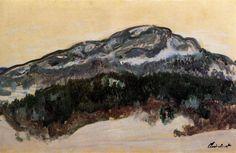 Claude Monet, Mount Kolsaas, Norway, 1895