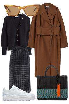 Et drømme look i slut oktober Office Fashion, 70s Fashion, Skirt Fashion, Vintage Fashion, Womens Fashion, Vintage Clothing, Paris Outfits, Winter Fashion Outfits, Autumn Winter Fashion