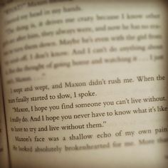 I LOVE this quote! The Selection- Kiera Cass