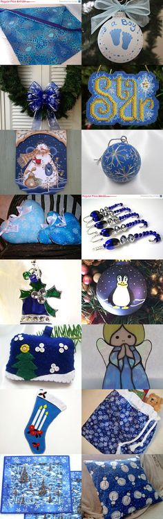 CIJ Blues - HDM Team and More by Margaret Maringgele on Etsy--Pinned with TreasuryPin.com