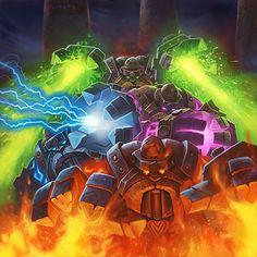 Boss: Omnotron Defense Artist: Alex Horley