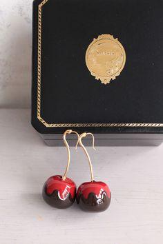 Cherry Bomb Earring.