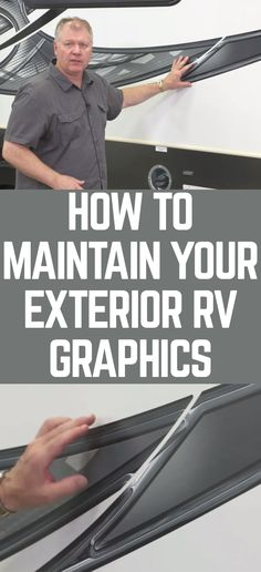 RVing expert Dave Solberg talks about his favorite tips for maintaining and protecting an RV's graphics. He explains why it's so important to limit the amount of time your RV is exposed to harmful UV rays, and introduces an inexpensive way to mend any minor damage the graphics suffer and keep up appearances. With Dave's help, you can protect your slick decals and get the biggest bang for your buck!