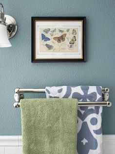Brushed nickel, Towels and Bar on Pinterest